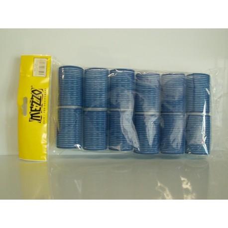 Rouleau mis en plis bleu - 40mm