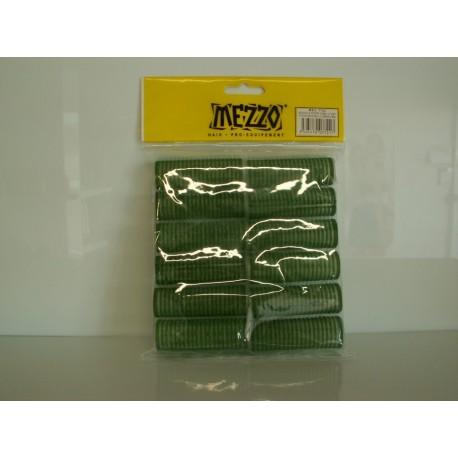 Rouleau mis en plis vert